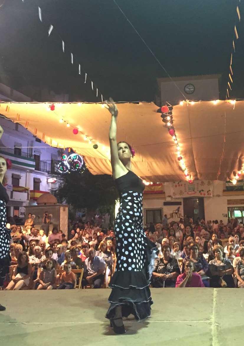 FIESTAS PATRONALES 2021- Velada flamenca. Escuela de baile Azahara y Miguel Almendros