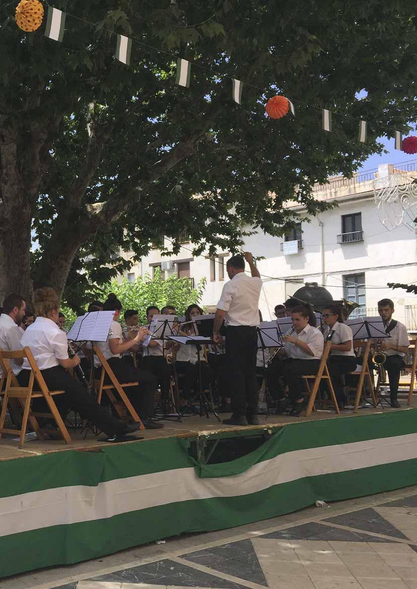 FIESTAS PATRONALES 2021- Concierto Banda de Música Ntra. Sra. del Rosario de Güéjar Sierra