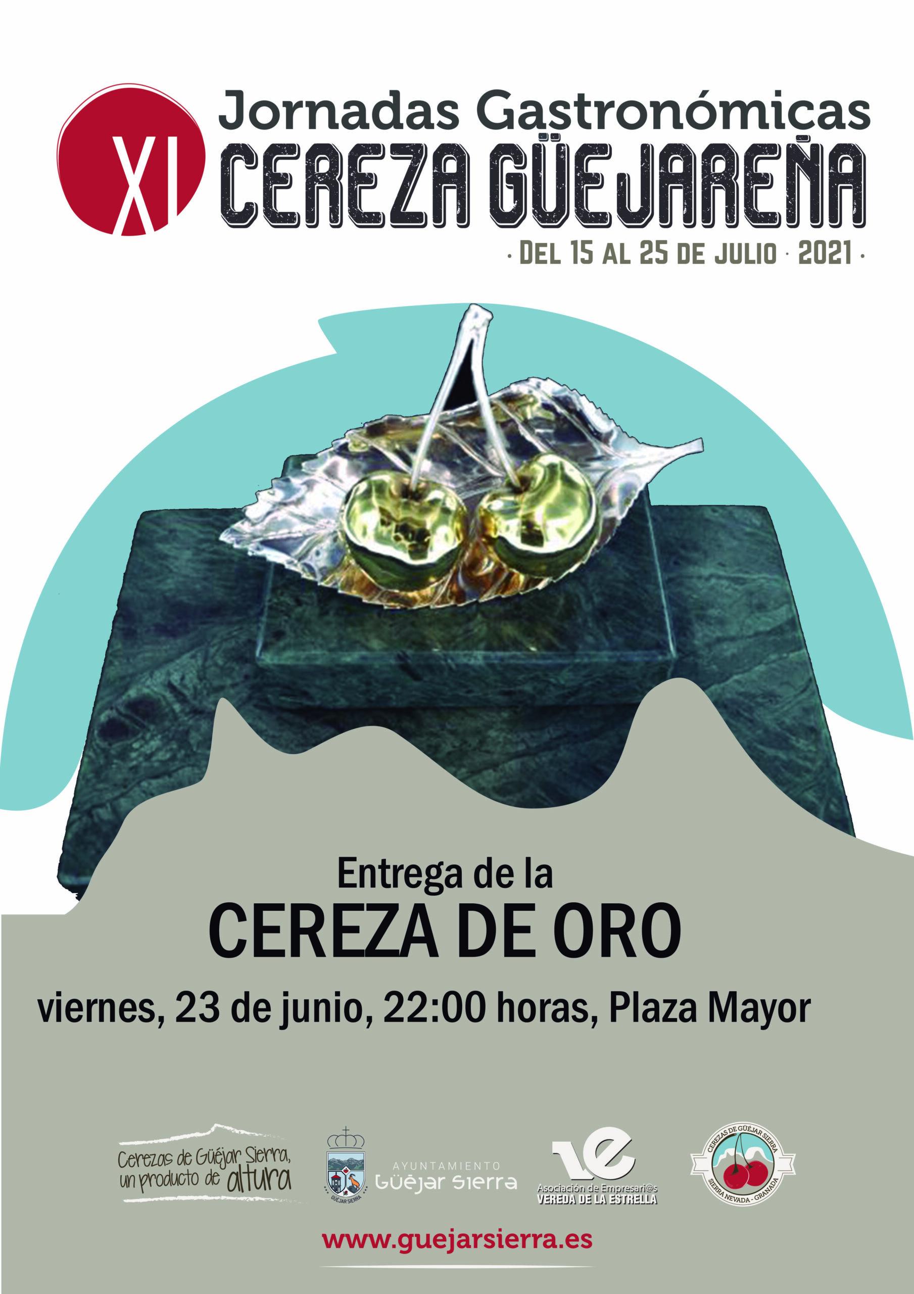 XI JORNADAS DE LA CEREZA – Premio Cereza de Oro