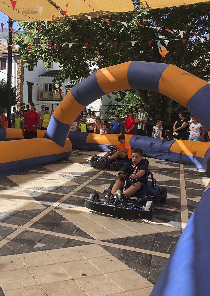FIESTAS PATRONALES 2021 – Circuito de karts
