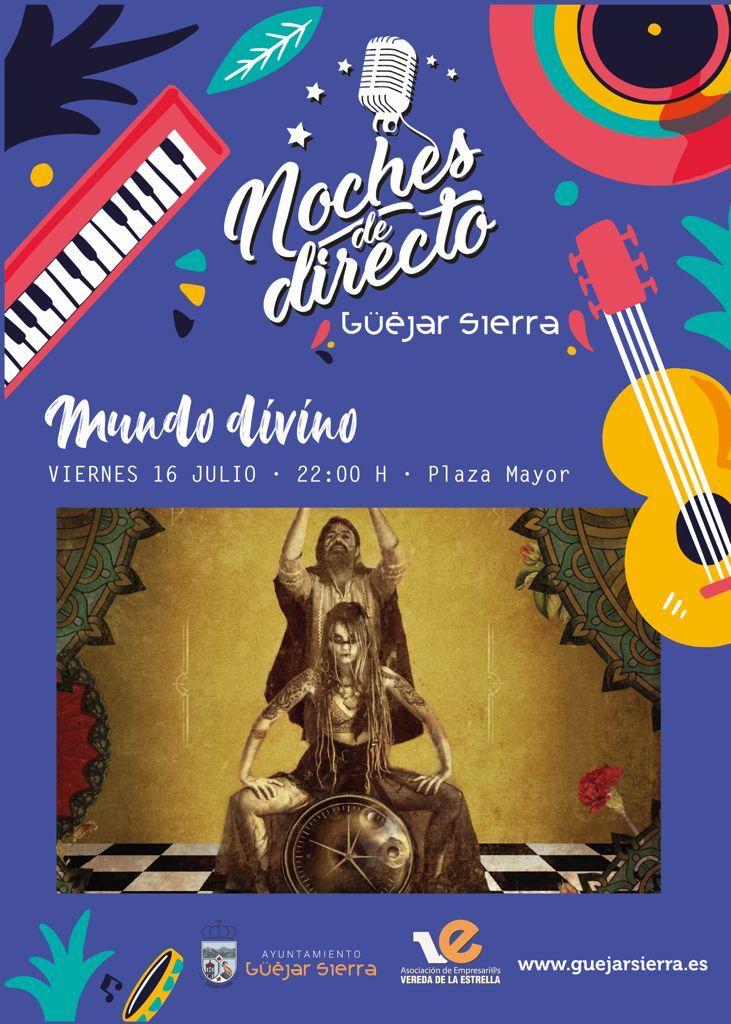 """NOCHES DE DIRECTO – Mundo Divino """"María del Tango y El Calimbero"""""""