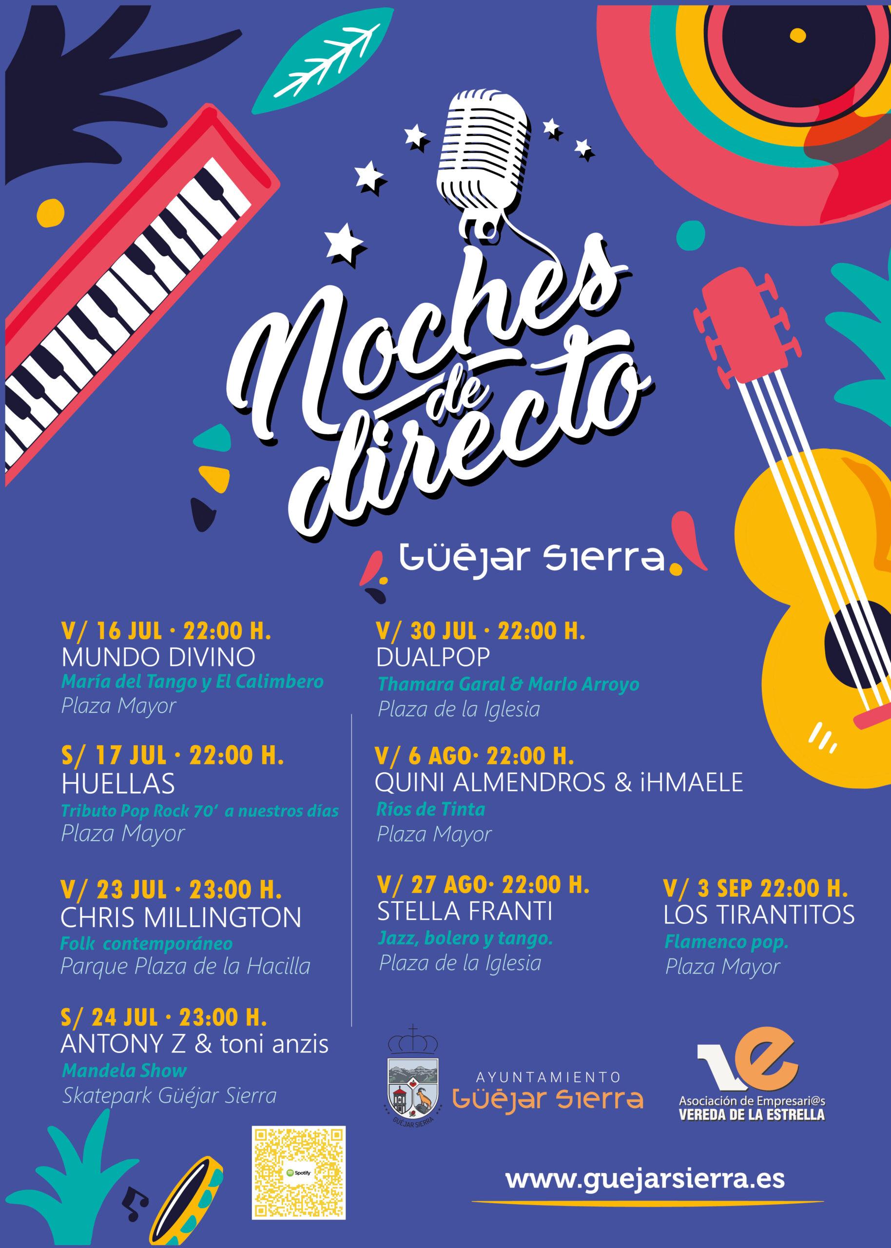 NOCHES DE DIRECTO – Los Tirantitos (Flamenco pop)